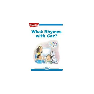 Highlights for Children Tex and Indi: What Rhymes With Cat? Reading & Writing Workbook, Kindergarten - Grade 2 [eBook + Audio]