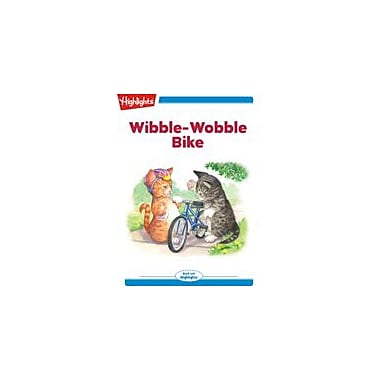 Highlights for Children Wibble-Wobble Bike Reading & Writing Workbook, Kindergarten - Grade 2 [eBook + Audio]