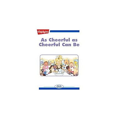 Highlights for Children As Cheerful As Cheerful Can Be Reading & Writing Workbook, Kindergarten - Grade 3 [eBook + Audio]