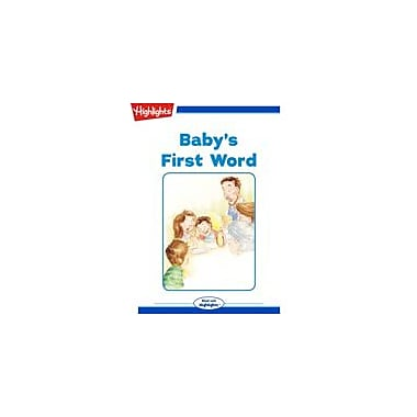 Highlights for Children Baby's First Word Reading & Writing Workbook, Kindergarten - Grade 3 [eBook + Audio]