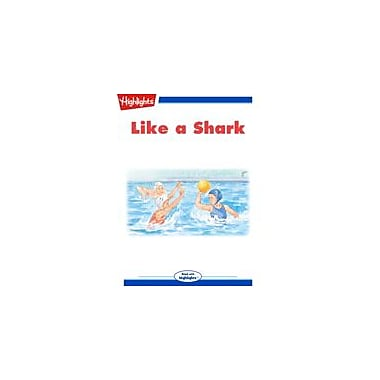 Highlights for Children Like A Shark Reading & Writing Workbook, Kindergarten - Grade 3 [eBook + Audio]