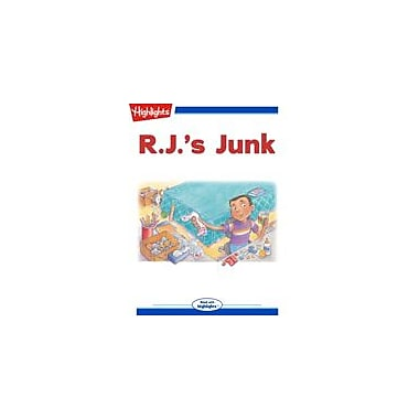Highlights for Children R.J.'S Junk Reading & Writing Workbook, Kindergarten - Grade 3 [eBook + Audio]