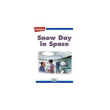 Highlights for Children Snow Day In Space Reading & Writing Workbook, Kindergarten - Grade 3 [eBook + Audio]