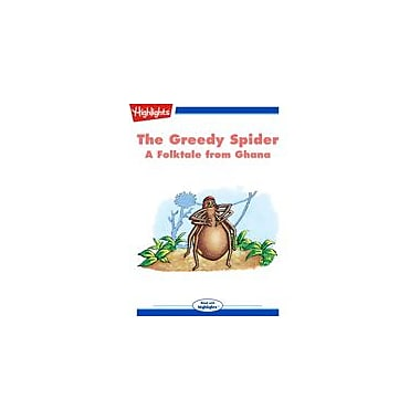 Highlights for Children The Greedy Spider Reading & Writing Workbook, Kindergarten - Grade 3 [eBook + Audio]