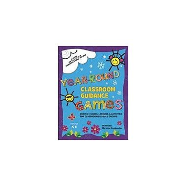 Marco Products Inc. Year Round Classroom Guidance Games Character & Social Skills Workbook, Kindergarten - Grade 5 [eBook]
