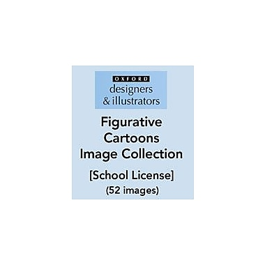 Oxford Designers and Illustrators Figurative Cartoons Image Collection (52 Images), School License, Grade 4 - Grade 12 [eBook]