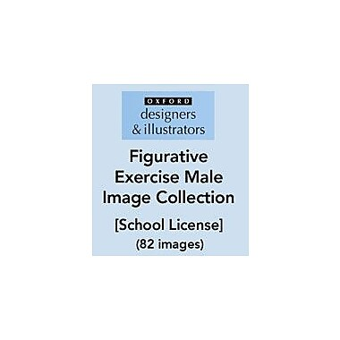 Oxford Designers and Illustrators Figurative Exercise Male Image Collection (82 Images), School License [eBook]