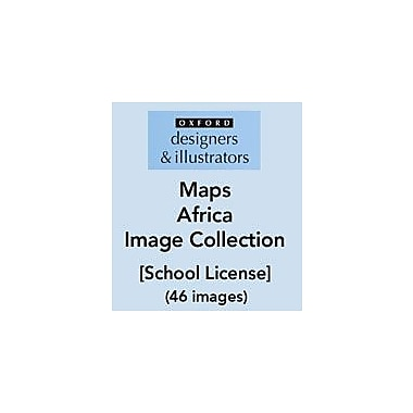 Oxford Designers and Illustrators Maps Africa Image Collection (46 Images), School License, Grade 4 - Grade 12 [eBook]