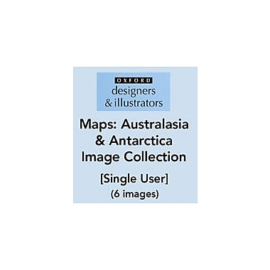 Oxford Designers and Illustrators Maps Australasia and Antarctica Image Collection (6 Images), Grade 4 - Grade 12 [eBook]