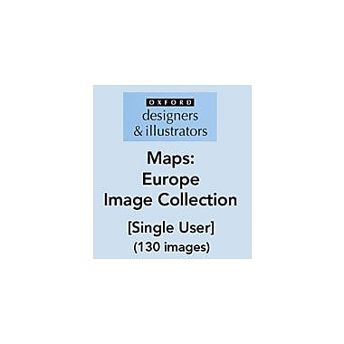 Oxford Designers and Illustrators Maps Europe Image Collection (130 Images) Art & Music Workbook, Grade 4 - Grade 12 [eBook]