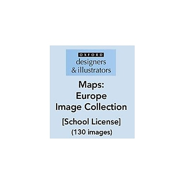 Oxford Designers and Illustrators Maps Europe Image Collection (130 Images), School License, Grade 4 - Grade 12 [eBook]