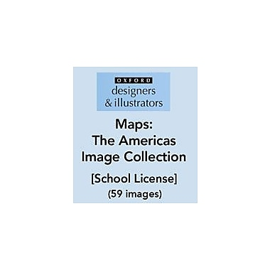 Oxford Designers and Illustrators Maps the Americas Image Collection (59 Images), School License, Grade 4 - Grade 12 [eBook]