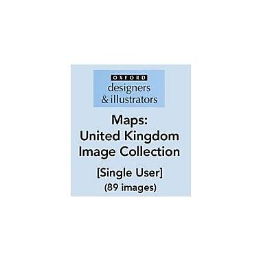 Oxford Designers and Illustrators Maps United Kingdom Image Collection (89 Images), Grade 4 - Grade 12 [eBook]