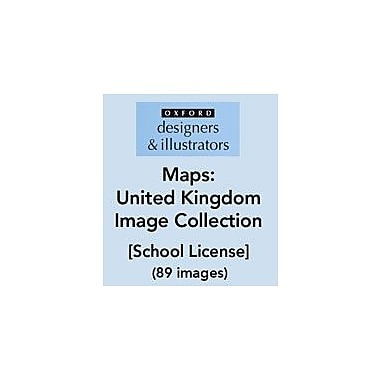 Oxford Designers and Illustrators Maps United Kingdom Image Collection (89 Images), School License, Grade 4 - Grade 12 [eBook]