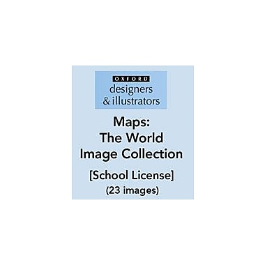 Oxford Designers and Illustrators Maps World Image Collection (23 Images), School License, Grade 4 - Grade 12 [eBook]