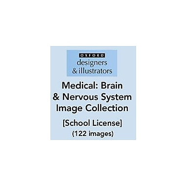Oxford Designers and Illustrators Medical Brain and Nervous System Image Collection (122 Images), School License [eBook]