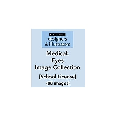 Oxford Designers and Illustrators Medical Eyes Image Collection (88 Images), School License, Grade 4 - Grade 12 [eBook]