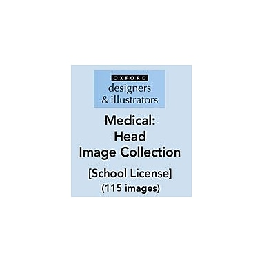Oxford Designers and Illustrators Medical Head Image Collection (115 Images), School License, Grade 4 - Grade 12 [eBook]