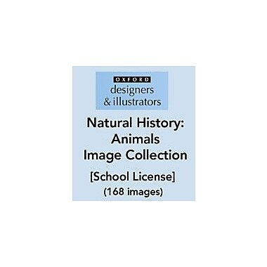Oxford Designers and Illustrators Natural History Animals Image Collection (168 Images), School License [eBook]