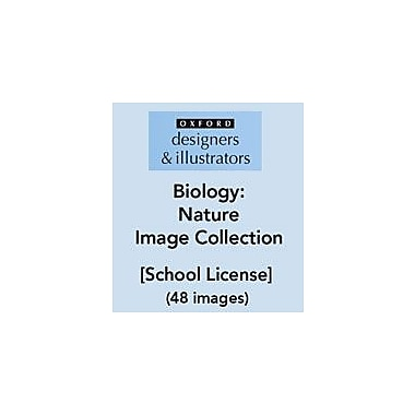 Oxford Designers and Illustrators Science Biology Nature Image Collection (48 Images), School License [eBook]