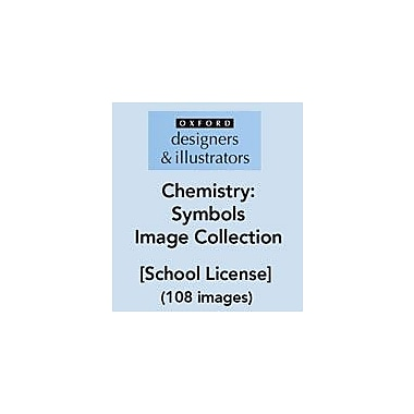 Oxford Designers and Illustrators Science Chemistry Symbols Image Collection (108 Images), School License [eBook]