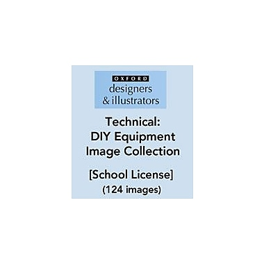 Oxford Designers and Illustrators Technical DIY Equipment Image Collection (124 Images), School License [eBook]