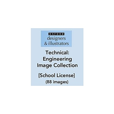 Oxford Designers and Illustrators Technical Engineering Image Collection (88 Images), School License [eBook]