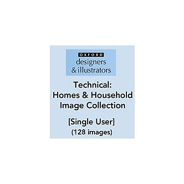 Oxford Designers and Illustrators Technical Homes and Household Image Collection (128 Images), Grade 4 - Grade 12 [eBook]