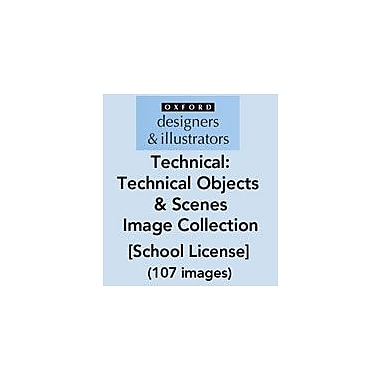 Oxford Designers and Illustrators Technical Objects and Scenes Image Collection (107 Images), School License [eBook]