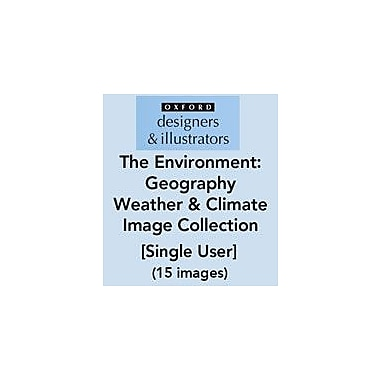 Oxford Designers and Illustrators The Environment Geography Weather and Climate Image Collection (15 Images) [eBook]
