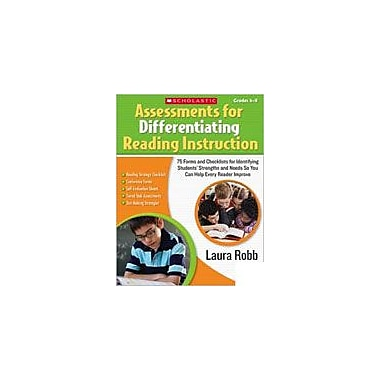 Scholastic Assessments for Differentiating Reading Instruction Special Needs Workbook, Grade 4 - Grade 8 [Enhanced eBook]