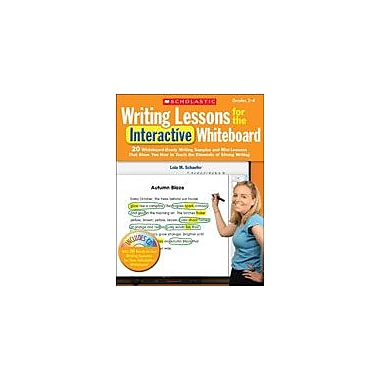 Scholastic Writing Lessons for the Interactive Whiteboard: Grades 2-4 Computers Workbook, Grade 2 - Grade 4 [eBook]
