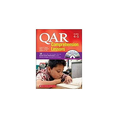 Scholastic Qar Comprehension Lessons: Grades 4-5 Reading & Writing Workbook, Grade 4 - Grade 5 [eBook]