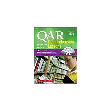 Scholastic Qar Comprehension Lessons: Grades 6-8 Reading & Writing Workbook, Grade 6 - Grade 8 [eBook]