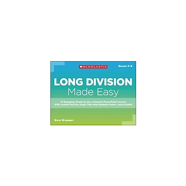 Scholastic Long Division Made Easy Math Workbook, Grade 3 - Grade 6 [eBook]