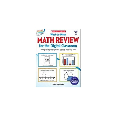 Scholastic Week-By-Week Math Review for the Digital Classroom: Grade 2 Math Workbook, Grade 2 [eBook]