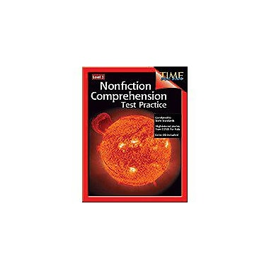 Shell Education Nonfiction Comprehension Test Practice Level 3 Language Arts Workbook, Grade 3 [Enhanced eBook]