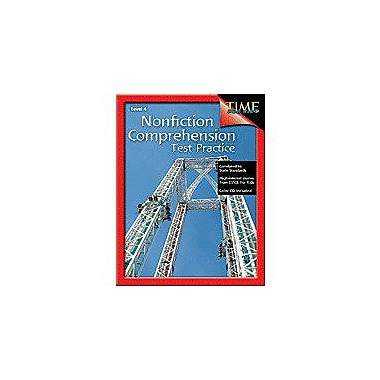 Shell Education Nonfiction Comprehension Test Practice Level 4 Language Arts Workbook, Grade 4 [Enhanced eBook]