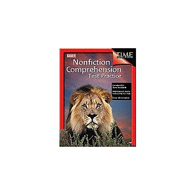 Shell Education Nonfiction Comprehension Test Practice Level 5 Language Arts Workbook, Grade 5 [Enhanced eBook]