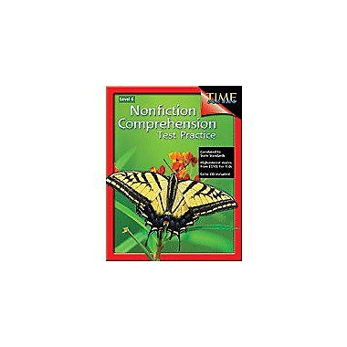 Shell Education Nonfiction Comprehension Test Practice Level 6 Language Arts Workbook, Grade 6 [Enhanced eBook]