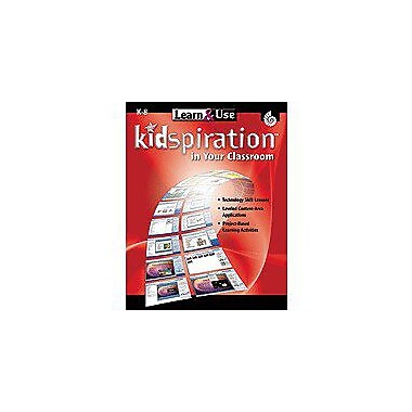 Shell Education Learn & Use Kidspiration In Your Classroom Computers Workbook, Kindergarten - Grade 8 [Enhanced eBook]