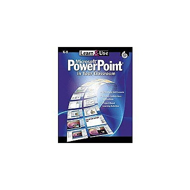 Shell Education Learn & Use Powerpoint In Your Classroom Computers Workbook, Kindergarten - Grade 12 [Enhanced eBook]