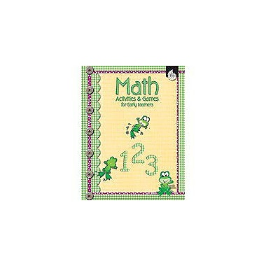Shell Education Math Activities and Games for Early Learners Puzzles Workbook, Preschool - Grade 1 [eBook]