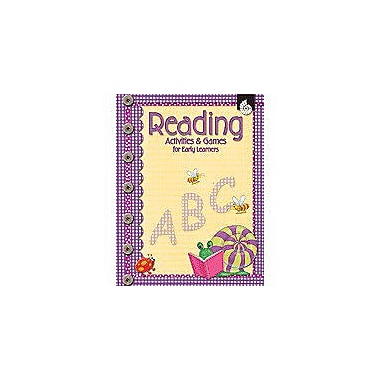 Shell Education Reading Activities and Games for Early Learners Puzzles Workbook, Preschool - Grade 1 [Enhanced eBook]