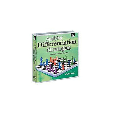 Shell Education Applying Differentiation Strategies: Teacher's Handbook Secondary, Grade 6 - Grade 12 [Enhanced eBook]