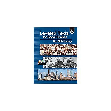 Shell Education Leveled Texts for Social Studies: the 20th Century Geography Workbook, Grade 4 - Grade 12 [Enhanced eBook]