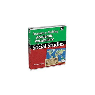 Shell Education Strategies for Building Academic Vocabulary In Social Studies, Kindergarten - Grade 12 [Enhanced eBook]