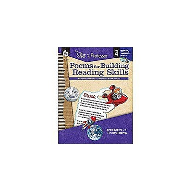 Shell Education The Poet and the Professor: Poems for Building Reading Skills Level 4, Grade 4 [Enhanced eBook]