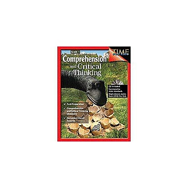 Shell Education Comprehension & Critical Thinking Grade 1 Problem Solving Workbook, Grade 1 [Enhanced eBook]