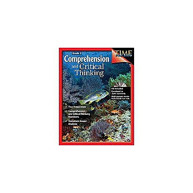 Shell Education Comprehension & Critical Thinking Grade 3 Problem Solving Workbook, Grade 3 [Enhanced eBook]